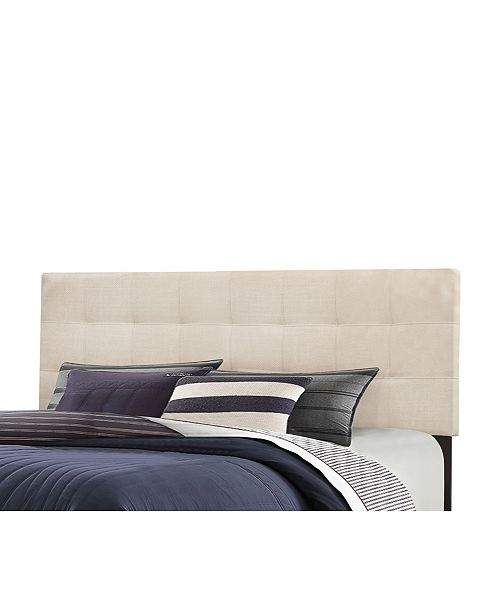 Hillsdale Delaney King Upholstered Headboard With Metal Bed Frame Reviews Furniture Macy S