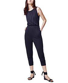 Cropped Slouch Jumpsuit
