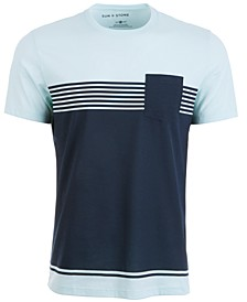 Men's Chest Stripe Pocket T-Shirt, Created for Macy's