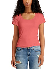 Juniors' Strappy-Back Top