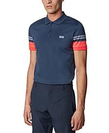 BOSS Men's Paule 1 Navy Polo Shirt
