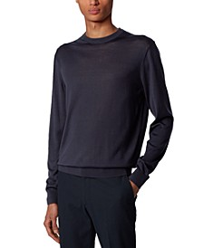 BOSS Men's T-Ortello Dark Blue Sweater