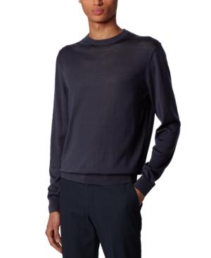 Boss Men's T-Ortello Dark Blue Sweater