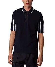 BOSS Men's Parlay 74 Dark Blue Polo Shirt
