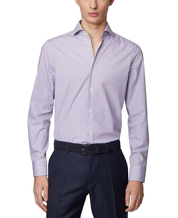 Hugo Boss BOSS Men's Mark US Dark Purple Shirt