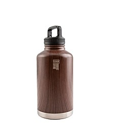 Robert Irvine Stainless Steel 64-Oz. Water Bottle