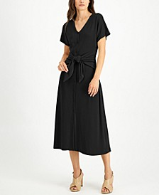 Tie-Front Dress, Created for Macy's
