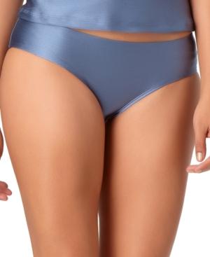 Cinch-Back Bikini Brief Bottoms Women's Swimsuit