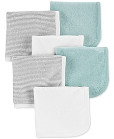 Baby Boy or Girl 6-Pk. Washcloths