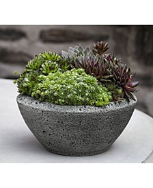 Rustic Lo Bowl Planter