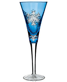 Waterford Flute, Snowflake Wishes for Goodwill Prestige Edition