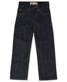 Levi's® 505™  Regular Fit Jeans, Little Boys