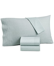 CLOSEOUT! Baja Stripe Cotton 230-Thread Count 4-Pc. Queen Sheet Set, Created for Macys