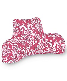 """French Quarter Comfortable Soft Reading Pillow with Removable Cover 33"""" x 18"""""""