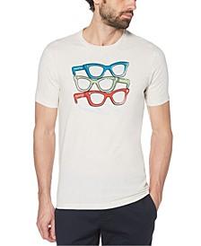 Men's Glasses Short Sleeve T-Shirt