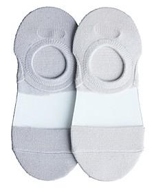 Women's Clear Coat Liner Socks - Pack of 2
