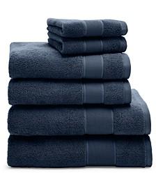 Sanders Cotton 6-Pc. Towel Set