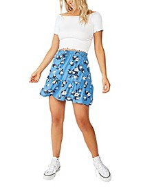 Penny Tiered Mini Skirt