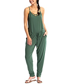 Juniors' Jumpsuit Cover-Up, Created for Macy's