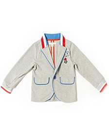 Toddler Boys Knit Blazer