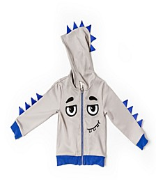 Little Boys Scuba Monster Hoodie Sweatshirt