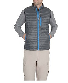 Men's Lightweight Filled Packable Vest