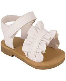 Baby Girls Sandal with Ruffle