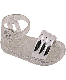 Baby Girls Banded Jelly Sandal