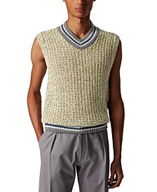 BOSS Men's Omilo Silver Sweater