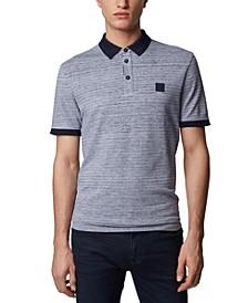 BOSS Men's PSelf Dark Blue Polo Shirt