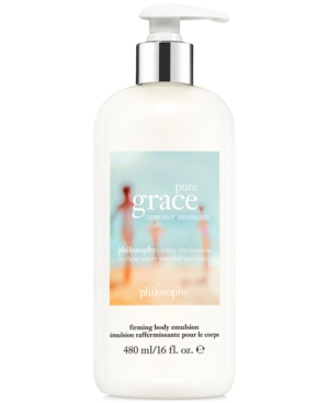 philosophy Pure Grace Summer Moments Firming Body Emulsion, 16-oz.