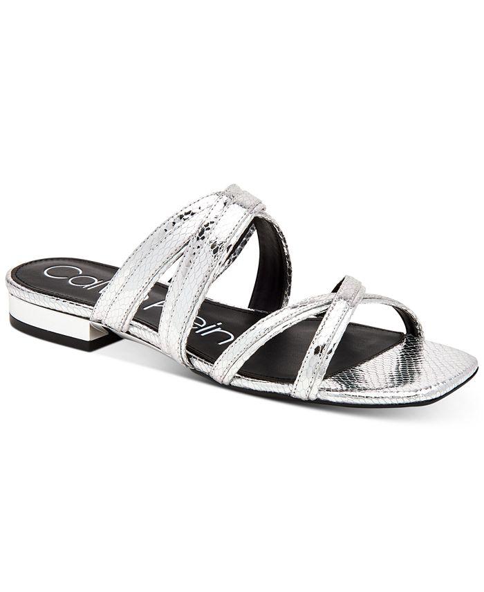 Calvin Klein - Missouri Strappy Flat Sandals