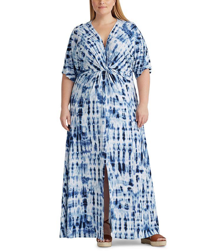 Lauren Ralph Lauren - Plus Size Linen Maxidress