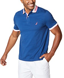 Men's Classic-Fit Colorblocked Polo Shirt