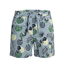 Men's Printed Swim Trunks