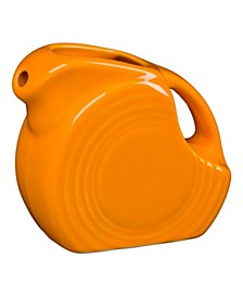 Butterscotch Miniature Disc Pitcher