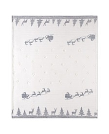 Inc Christmas Throw Flannel