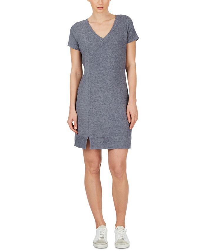 Adyson Parker - V-Neck T-Shirt Dress