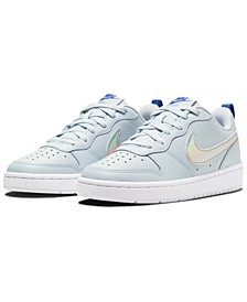 Big Girls Court Borough Low 2 Casual Sneakers from Finish Line