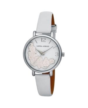 Women's Floral Bounty White Polyurethane Strap Watch 38mm