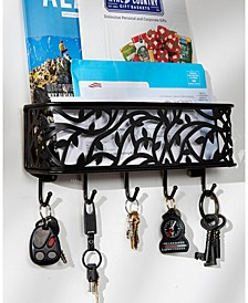 Large Wall Mount Mail Key Organizer