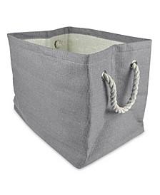 Paper Basket Solid Rectangle Large