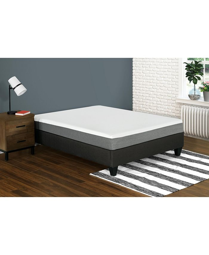 "Primo International - Primo Leila 8"" Gel Memory Foam Cushion Firm Mattress - Twin"