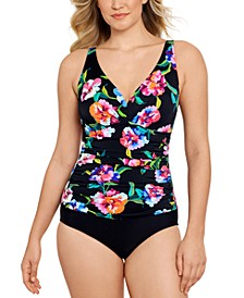 Tummy-Control One-Piece Swimsuit, Created for Macy's