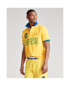 Polo Ralph Lauren Men's The Classic Fit Brazil Polo Shirt