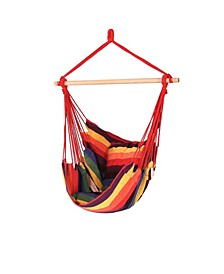 Swing Hanging Hammock Chair with 2 Seat Cushions