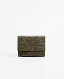Croc-Effect Wallet
