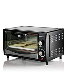 Countertop 4 Slice Toaster Oven with Removable Baking Tray