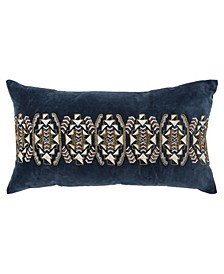 "Geometric Decorative Pillow Cover, 26"" x 14"""