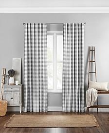 "Farmhouse Buffalo Check 52"" x 95"" Curtain Panel"